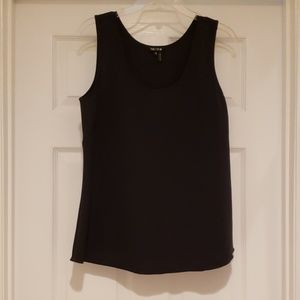 NIC+ZOE Navy Blue Sleeveless Shell/Tank EEUC
